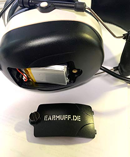 3M BLUETOOTH SNR 24db Digital Radio Gehörschutz Kopfhörer - 4