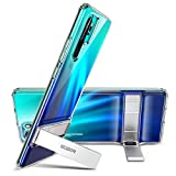 ESR Metal Kickstand Case for Huawei P30 Pro [Crystal-Clear