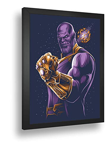 Quadro Decorat Poste Thanos Manopla Do Infinito Classico