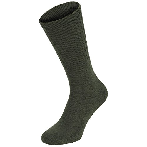 MFH 3er Pack BW Armee Socken Halblang (Oliv/43-46)