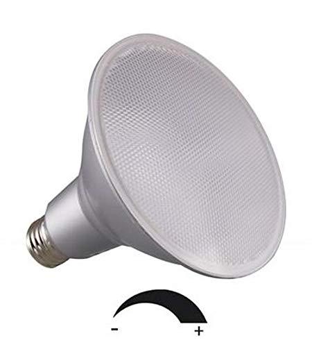 DIMMBARE 18 Watt PAR 38 LED Lampe, Strahler, Fassung E27, Lichtfarbe warmweiß 2700 Kelvin, 1500 Lumen entspricht ca. 120 Watt Glühlampe, 120° Ausstrahlwinkel. Schutzklasse IP44 für Innen und Außen