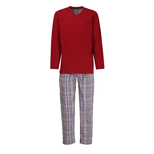 TOM TAILOR Herren Pyjama blau kariert 1er Pack 52