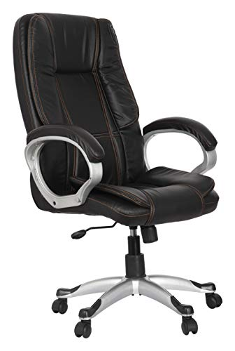 Townsville Moscow Leatherette High Back Executive Chair (Black)