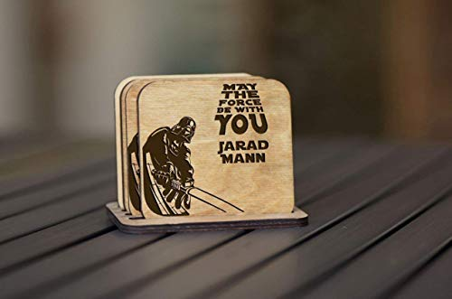 Star Wars Personalized Coasters
