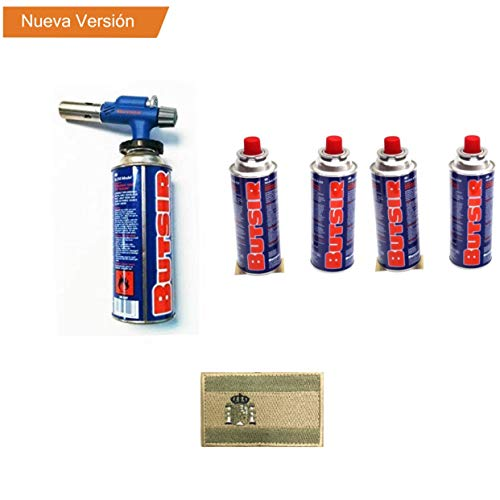 Lote Soplete quemador NS-230 - Butsir ( incluye cartucho de carga) + 4 Cartucho Butsir