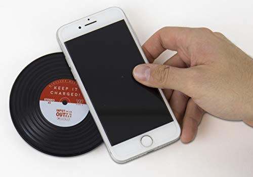 Price comparison product image Gift Republic Vinyl Wireless Cell Phone Charger