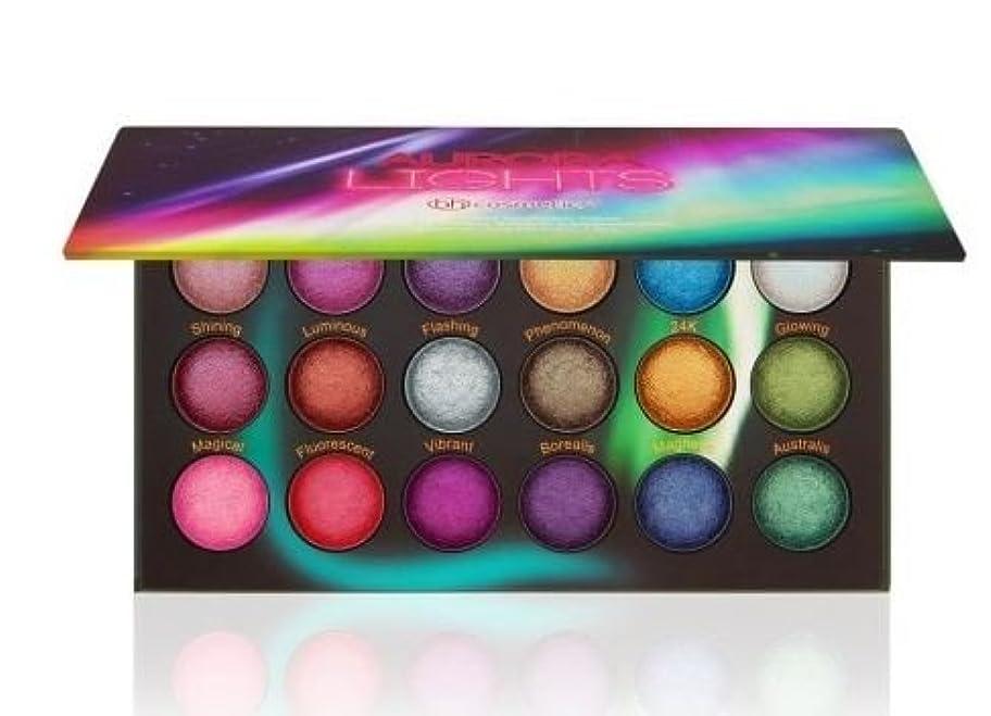 離れた慣れる入場BH Cosmetics Aurora Lights - 18 Color Baked Eyeshadow Palette