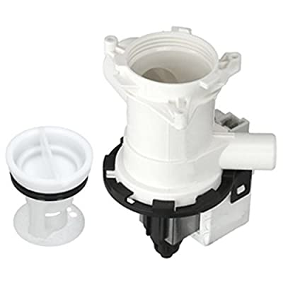 SPARES2GO Complete Drain Pump Outlet & Filter for Beko Washing Machine - Fitment List D