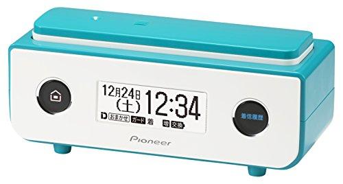 パイオニア TF-FD35S デジタルコードレス電話機 迷惑電話防止 ターコイズブルー TF-FD35S(L)
