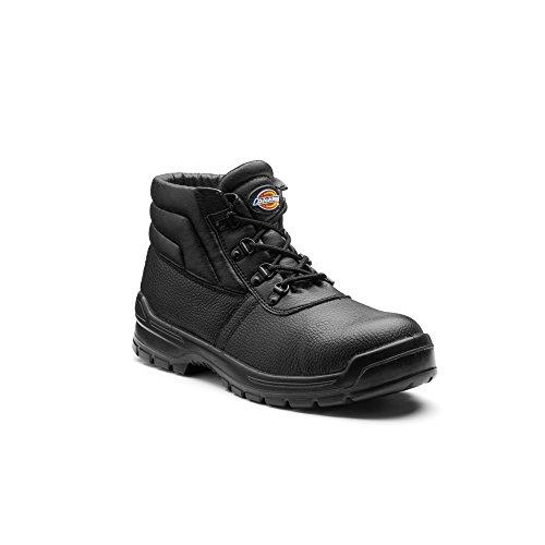 Dickies - Botas Modelo Redland II de Seguridad para Hombre (41 EU) (Negro) ✅
