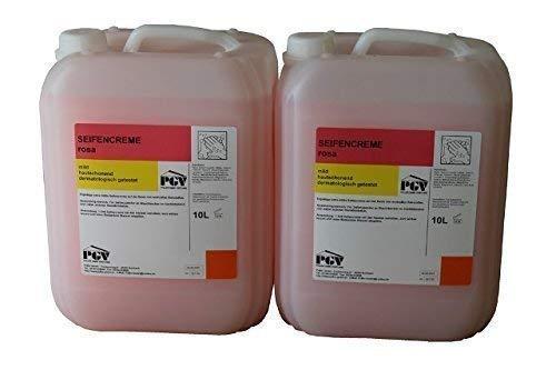 2x10 Liter Kanister Seifencreme Cremeseife Füssigseife rosa