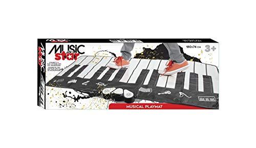 Music star - Piano Musicale da Pavimento Piano Dance Mat - Maxi Tappeto Musicale Bambini - Salta, Componi Le tue Melodie e Riascoltale - Tappeto Cameretta Bambini Morbido - Giochi per Bambini