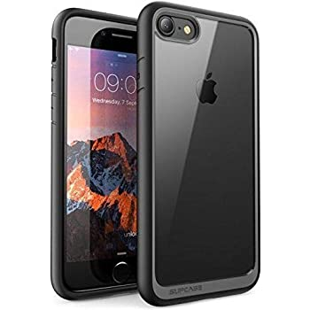 Supcase Funda iPhone 7, Carcasa iPhone 8, [Unicorn Beetle Style] Case Premium Híbrida para Apple iPhone 7 2016/ Apple iPhone 8 2017(negro)
