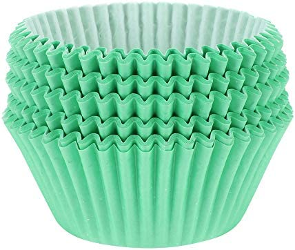 TRUSBER Baking Cups 100 pieces Paper Cupcake Liners Wrappers Nonstick Muffin Molds Baking Cup product image