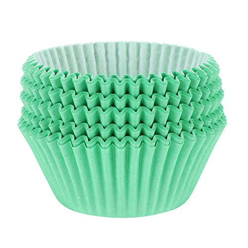 Mint Green Baking Cups
