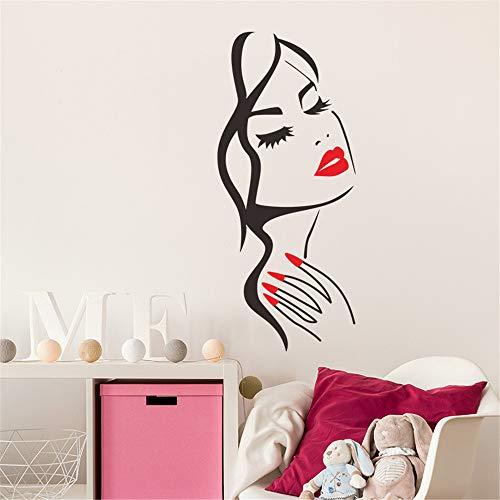 Sencillo Vida Pegatinas de pared vinilo Avatar de La belleza adhesivo decorativo para las niñas habitación de niño Wall Stickers salón dormitorio TV fondo Inicio