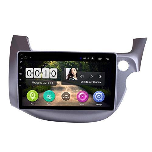 ZWDSDD Android 8.1 Radio De Automóvil para Honda FIT 2008-2013 Coche Estéreo GPS Navegación Touch Pantalla Pantalón Media Player Doble DIN Head Unit Support WiFi Control del Volante(Color:WiFi:1+16G)