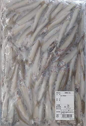 冷凍 国産 ( 滋賀県 ) 冷凍 若鮎 ( 中 ) 1kg×12P ( 尾約8-10cm ) 業務用 稚 あゆ 鮎 小鮎