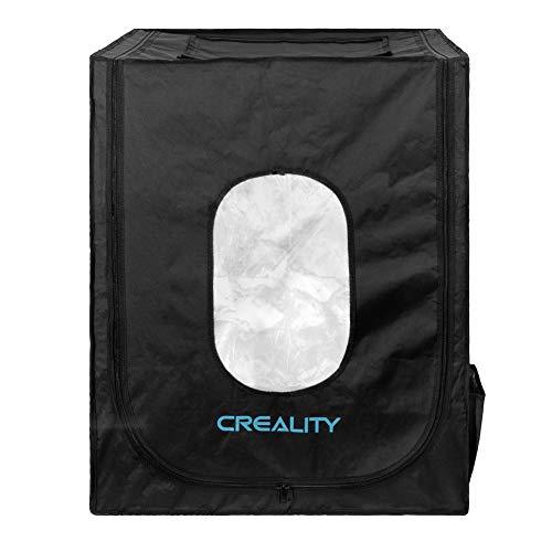 Creality Fireproof & Dustproof 3D Printer Tenda Enclosure per Ender 5/5 pro/5 plus/CR-10/10S/10S PRO/CR-X/CR-20/20 PRO Temperatura Costante Copertura Protettiva Camera Storage Dimensioni 750x700x900MM