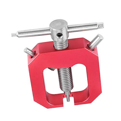 Dilwe RC Motor Gear Puller, professionelles Werkzeug Universal Motor Pinion Gear Puller Entferner für RC Motors Upgrade Teilzubehör(rot)