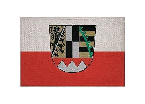 UB Aufnäher Oberfranken Flagge/Fahne Aufbügler Patch 9 cm x 6 cm Neuware!!!