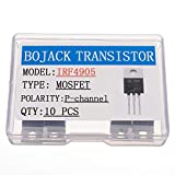 BOJACK IRF4905 MOSFET Transistores IRF4905S 74 A 55 V canal P Potencia MOSFET TO-220AB (Pa...
