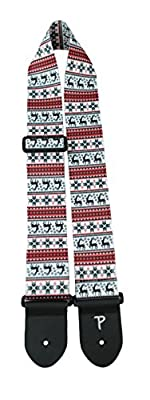 Reindeer Ugly Sweater Guitar Strap