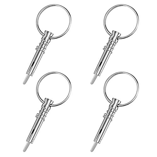 Hysagtek 4 Pcs Quick Release Bimini Top Pins 1/4