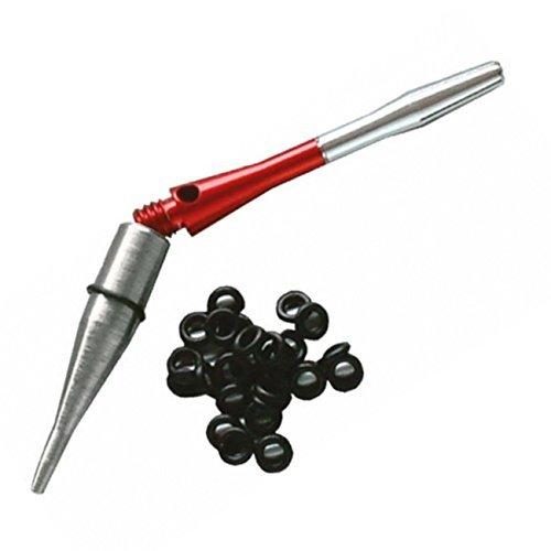 Shaft Lock System, mit 30 Gummiringen