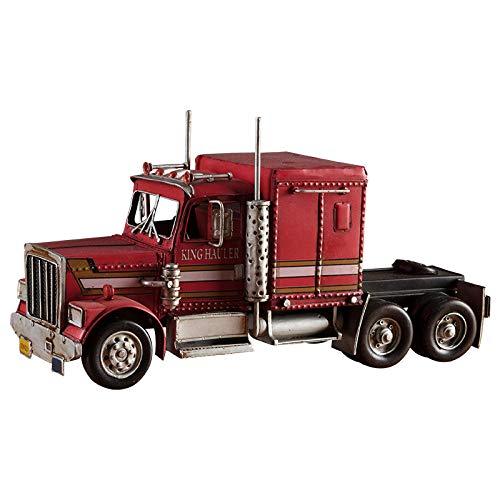 ANNISOUL Retro Viejos grúas de Hierro industriales Optimus Prime Modelo de camión Grande hogar Sala de…