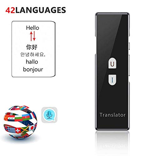 SDRFSWE Smart Language Translator Version Handheld Voice vertaling, simultaanvertaling Engels Chinees Frans Spaans 40 talen voor business Travel Learning vergadering
