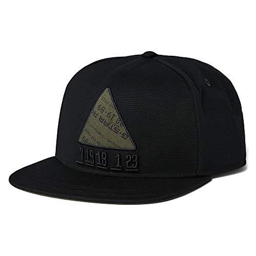 G-STAR RAW Mens Estan Iron Cap, Black C693-990, One Size fits All