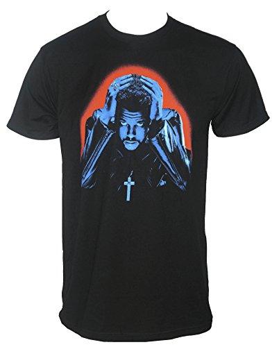 The Weeknd Men's Starboy Album Cover T-Shirt Black S