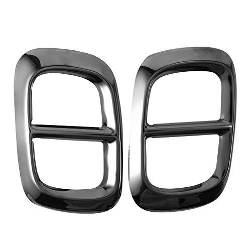 YanYun para Mercedes GLB X247 2020+, Cubierta de Tubo de Escape Trasero del Coche, Accesorios de Silenciador de Ajuste, Acero Inoxidable, 2 a 4 Orificios A