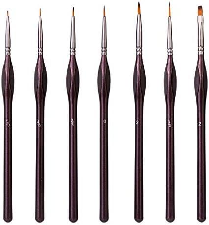 Amazon Basics Detail Paint Brush Set 7 pcs product image