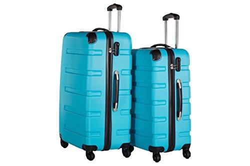 Packenger Koffer 2er-Set Marina, L/XL, Blau
