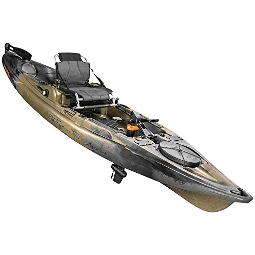 Old Town Sportsman BigWater PDL 132 Pedal Fishing Kayak (Marsh Camo)