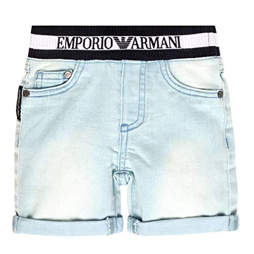 EMPORIO ARMANI Ariel Korte broeken garcons Blauw - 6 maanden - Korte broeken / Bermuda's
