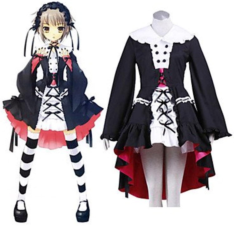 Haruhi Suzumiya Yuki Nagato Lolita-Stil Cosplay,Mageschneiderte,Gre S  Hhe 155cm-160cm