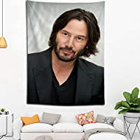 Keanu Reeves Wall Hanging Landscape 3D Printing Digital Printing Home Decoration Tapestry 150x200cm