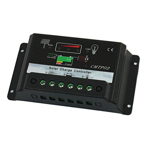 IIVVERR CMTP02 15A 12V 24V PWM Solar Panel Battery Regulator Charge...