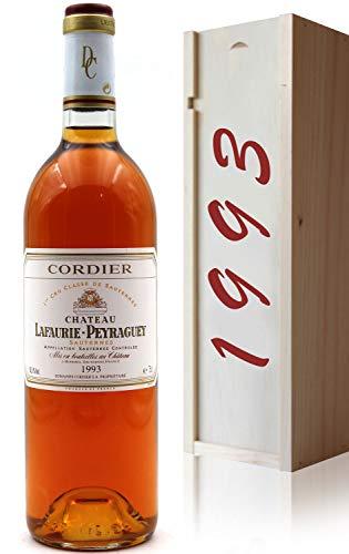 Coffret Château Lafaurie-Peyraguey 1993 Blanc 75cl AOC Sauternes 1er Grand Cru classé
