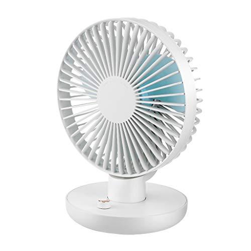 Oscillating Desk Fan, Battery Operated Table Fan, Fan with Adjustable Head, Fans HotSales (As Shown)