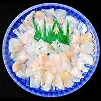 天然 白バイ貝の薄造り1~2人前90g×3皿 島根大田鮮魚市場 コリコリの食感 刺身よりも旨い高級薄造りだから味わえる旨味 日帰り漁のうまみをご堪能ください