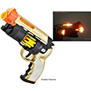 Blade Runner Style Blaster Toy Pistol with Light and Sound with Orange Safety tip for safe play(US Seller)
