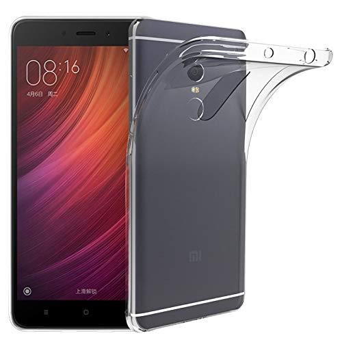 Todotumovil Funda de Gel TPU Carcasa Silicona para Xiaomi Redmi Note 4 Transparente