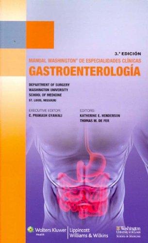 Manual Washington de gastroenterología (Manual Washington De Especialidades Clinicas)