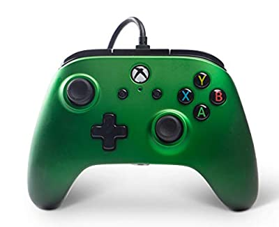 XBOX ONE enhanced wired controller- PowerA, Emerald Fade