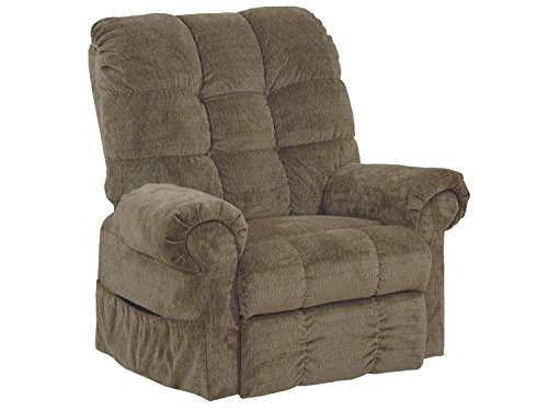 Catnapper Omni 4827 Power Full Lay-Out Large Heavy Duty Lift Chair Recliner 450 lb Capacity - Thistle Fabric