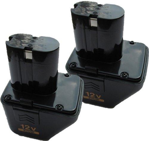 Ryobi CD125K Cordless Drill 12V Battery (2 Pack) # 4400005B-2PK